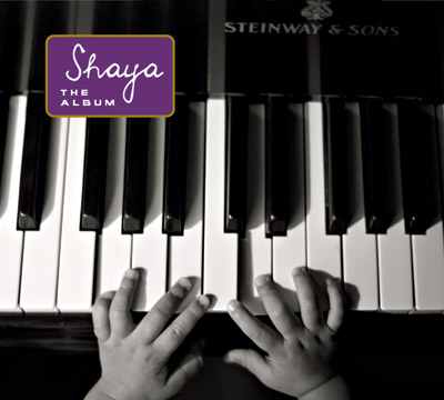Shaya - The Album - Front Cover